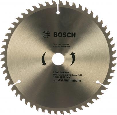 цена на Пильный диск Bosch ECO ALU/Multi 190x20/16-54T 2608644390