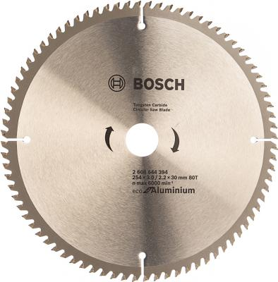 Диск пильный Bosch ECO AL 254 ммx30 мм 80зуб 2608644394 пильный диск bosch eco for wood 2608644383 254х30 мм