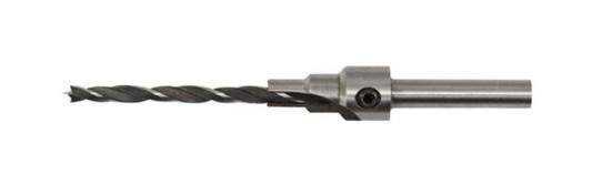 Сверло FIT 36431 с зенкером для мебельных стяжек 5мм/зенкер 9.5мм (для стяжки 7х50)