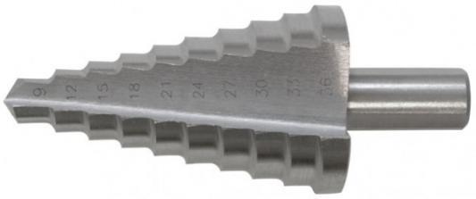 Сверло по металлу КУРС 36404 ступенчатое HSS 9 ступеней 9-36мм сверло курс 36087
