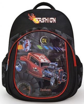 Купить Рюкзак ACTION FASHION, мягкая спинка, разм.41х30х14 см, Action!, черный, н/д, Рюкзаки