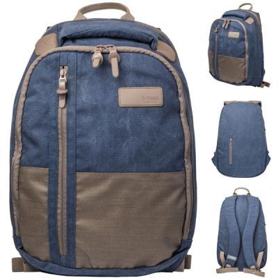 Рюкзак городской T-TIGER COLLECTION, разм.46x29x17см, анат.спинка, темно-синий, коричневый