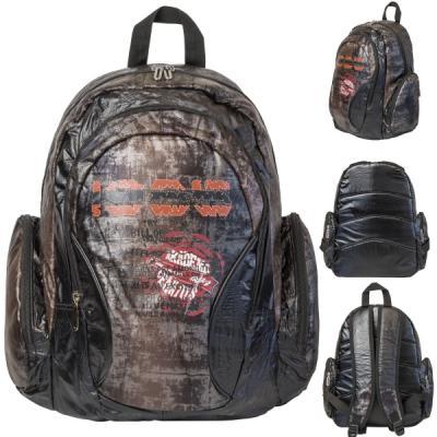 Рюкзак, уплотненная спинка, разм. 29 х 19 х 41 см, коричневый рюкзак городской t tiger collection разм 46x29x17см анат спинка темно синий коричневый