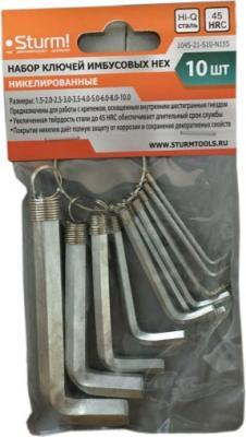 Набор ключей имбусовых Sturm 1045-21-S10-N155