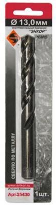 Сверло по металлу ЭНКОР 25430 13.0мм 1шт. Р6М5 блистер арт дизайн подарочный набор открытка с ручкой 0701 051