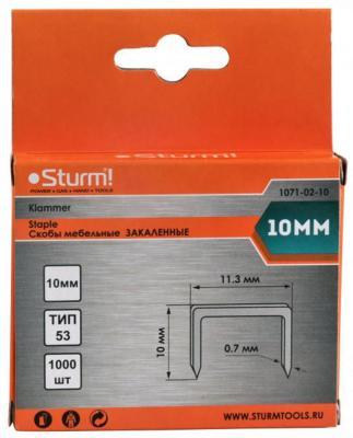 цена на Скобы для степлера Sturm 10 мм 1000 шт