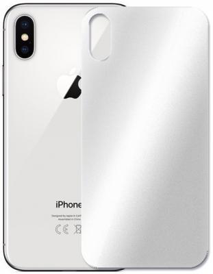 Защитное стекло 3D Perfeo PFA4068 для iPhone X 033 мм серебристый
