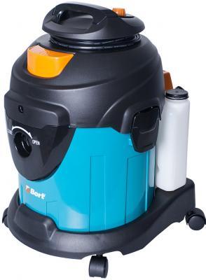 Промышленный пылесос BORT BSS-1415-W влажная сухая уборка чёрный синий bort bss 1230 98291070 пылесос промышленный silver black