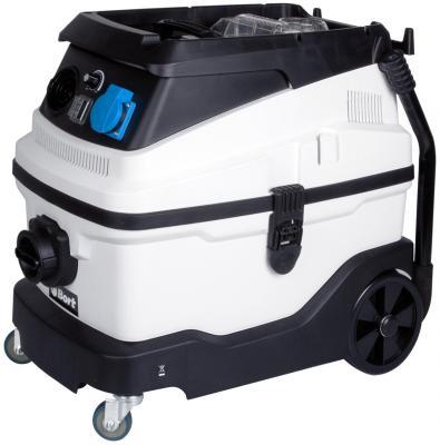 Промышленный пылесос BORT BSS-1630-Premium сухая влажная уборка чёрный белый