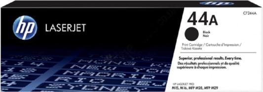 Картридж HP № 44A CF244A для HP LaserJet M15A M15w M28a M28w черный 1000стр