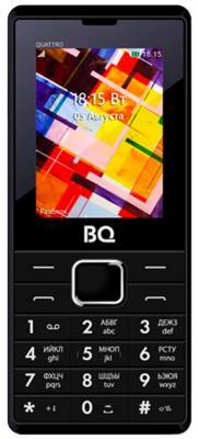 BQ 2412 Quattro Black Мобильный телефон мобильный телефон bq mobile bq 2412 quattro black