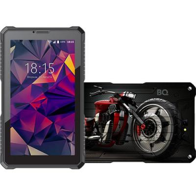 Планшет BQ BQ-7082G Armor 7 8Gb Black Print Wi-Fi 3G Bluetooth Android MCO00054429 Print10 планшет bq bq 7021g hit black spreadtrum sc7731 1 3 ghz 512mb 8gb 3g gps wi fi cam 7 0 1280x800 android