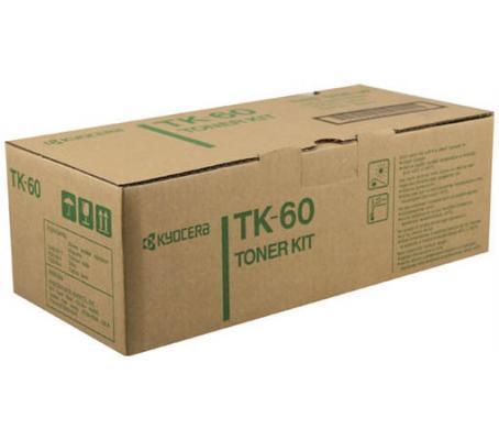 Картридж Kyocera TK-60 для FS-1800/1800+/3800 черный 20000стр картридж kyocera tk 70 для fs 9100 9500 черный 20000стр