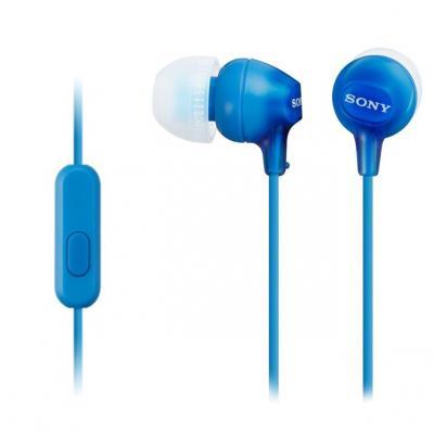 Sony MDR-EX15APL Наушники, синий sony mdr xb650bt синий