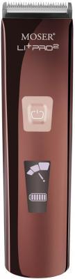 Машинка для стрижки волос Moser Li+Pro2 1888-0050 коричневый чёрный цена 2017