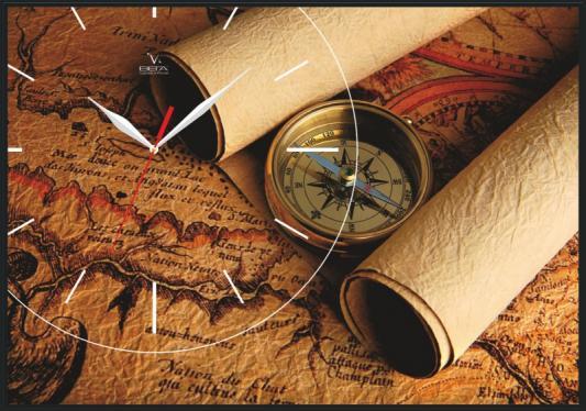 Часы настенные Вега КП-2 КАРТА рисунок старая карта 30 30 x 45см page 2