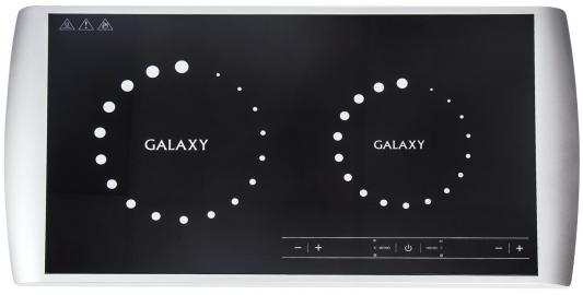 Индукционная электроплитка GALAXY GL3056 чёрный белый