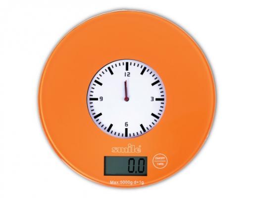 Весы кухонные Smile KSE 3264 оранжевый smile line коляска трансформер oscar pcos 01 smile line бежевый зеленый принт