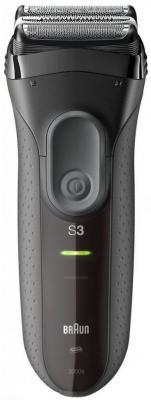 Бритва Braun Series ProSkin 3 3000s + Ear&Nose EN10 серебристый чёрный