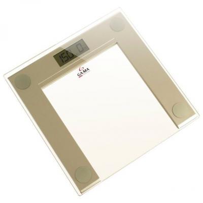 Весы напольные GA.MA GSC0202 SCG-400 Glass Electrinic золотистый