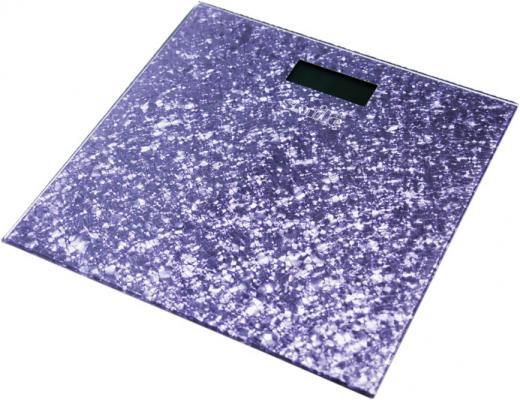 Весы напольные Smile PSE 3223 фиолетовый рисунок
