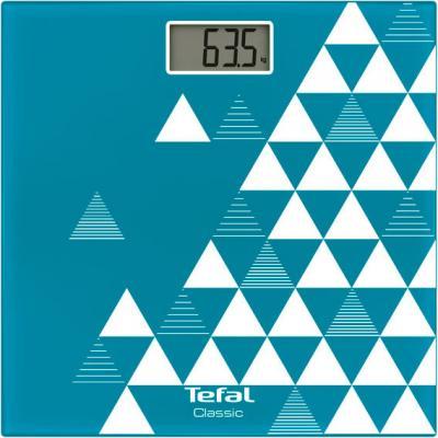 Весы напольные Tefal Classic PP1143V0 белый синий рисунок