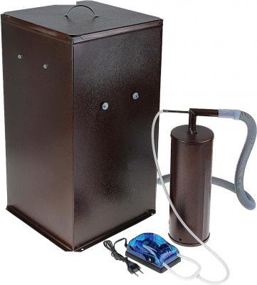 цена Коптильня бытовая холодного копчения дымогенератор+большая емкость Дым Дымыч 01Б