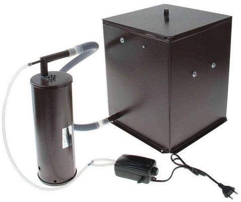 Коптильня бытовая холодного копчения дымогенератор+емкость Дым Дымыч 01М