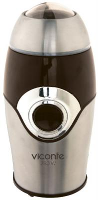 Кофемолка Viconte VC-3108 280 Вт коричневый