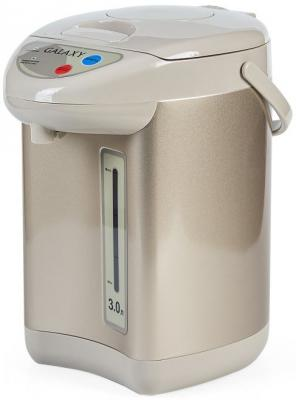 Термопот GALAXY GL0608 900 Вт бежевый 3 л металл/пластик цена и фото