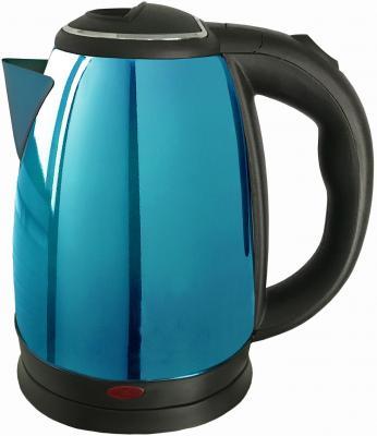 Чайник Irit IR-1336 1500 Вт чёрный синий 2 л нержавеющая сталь