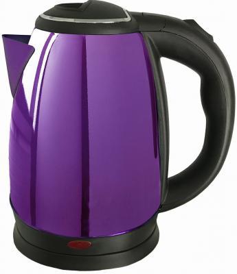 Чайник Irit IR-1336 1500 Вт фиолетовый 2 л нержавеющая сталь чайник irit ir 1336