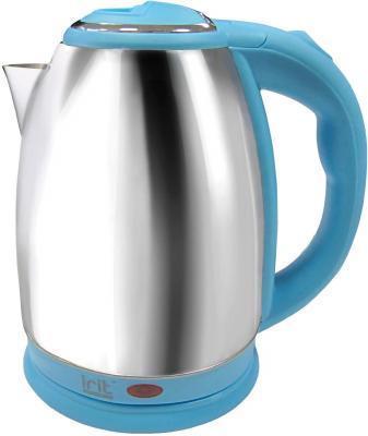 Чайник Irit IR-1337 1500 Вт серебристый голубой 1.8 л нержавеющая сталь