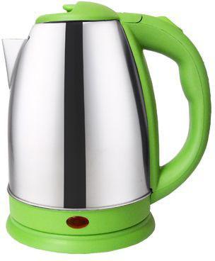 Чайник Irit IR-1337 1500 Вт серебристый зелёный 1.8 л нержавеющая сталь