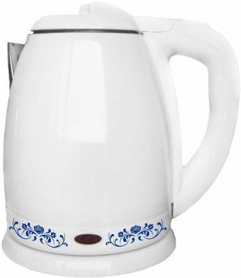 Чайник Irit IR-1340 1500 Вт белый 1.8 л металл/пластик