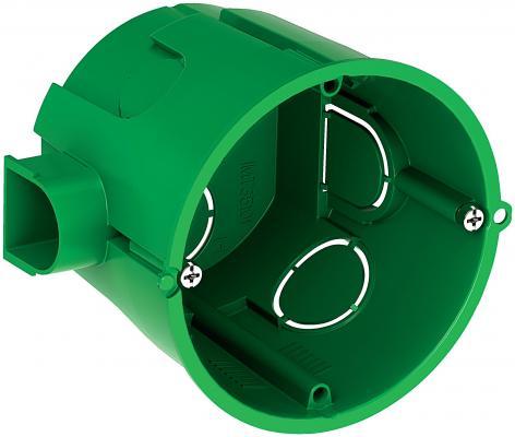 Коробка установочная Schneider Electric для сплошных стен 68x60мм IMT35101 механические повреждения декор для стен