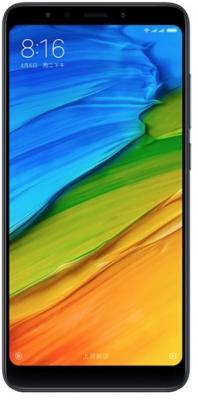 Смартфон Xiaomi Redmi 5 черный 5.7 16 Гб LTE Wi-Fi GPS 3G смартфон zte blade a510 серый 5 8 гб lte wi fi gps 3g