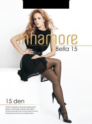 Колготки INNAMORE Bella 4 15 den черный колготки innamore bella 3 70 den черный
