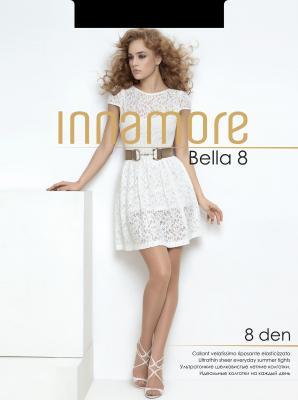 Колготки INNAMORE Bella 2 8 den черный колготки innamore bella 3 70 den черный