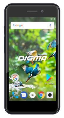 Смартфон Digma LINX A453 3G 8 Гб серый (LT4030PG) смартфон digma linx a420 3g 4гб белый dual sim 3g