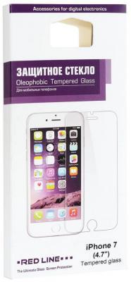 Защитное стекло Red Line УТ000011685 для iPhone 7 iPhone 8 защитное стекло 3d red line ут000009794 для iphone 7 plus