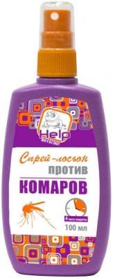 Спрей-лосьон Help Против комаров 100 мл 80510