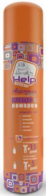 Аэрозоль Help От клещей и комаров 75 мл 80221 аэрозоль рефтамид максимум от комаров клещей мошки 100мл