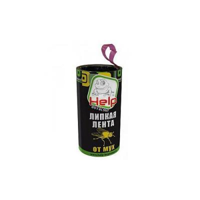 HELP BOYSCOUT Липкая лента для мух 400/100 липкая лента от мух раптор в гофрокоробе