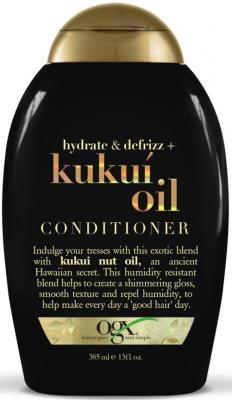 Кондиционер Ogx Для увлажнения и гладкости волос 385 мл 95450 ogx шампунь для увлажнения и гладкости волос с маслом гавайского ореха 385 мл
