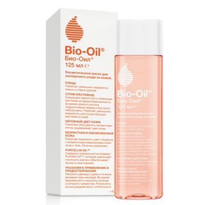 Bio-Oil Масло косметическое от шрамов растяжек неровного тона 125мл НОВЫЙ ДИЗАЙН косметика для мамы bio oil масло косметическое от шрамов растяжек неровного тона 125 мл