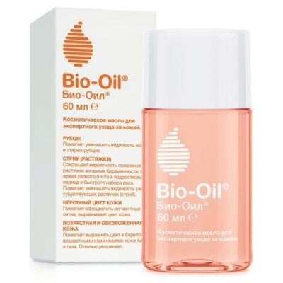 Bio-Oil Масло косметическое от шрамов растяжек неровного тона 60мл НОВЫЙ ДИЗАЙН масло для тела bio oil bio oil bi020lwvcj26