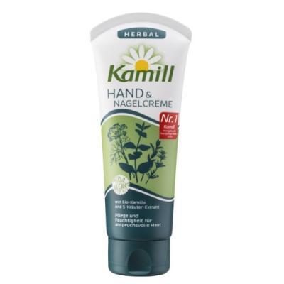 Крем для рук и ногтей Kamill Пять трав 100 мл 24 часа крем для рук и ногтей kamill sensitive 75 мл 24 часа 933171