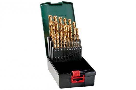 Купить Набор Сверл Metabo 627191000 Hss-Tin 25Шт. (1-13Мм) Мет.коробка