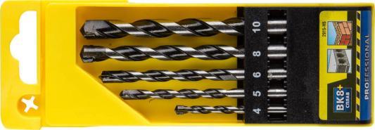 Набор сверл STAYER PROFESSIONAL 2915-H5 по бетону ударные 4/5/6/8/10мм 5шт. набор пневмоинструмента stayer 5 предметов универсальный master 06488 h5